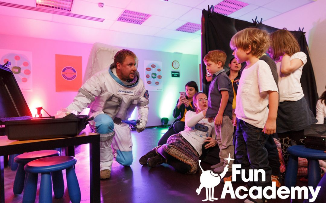 Every Child Should Train Like A Future Astronaut. This Is Why.